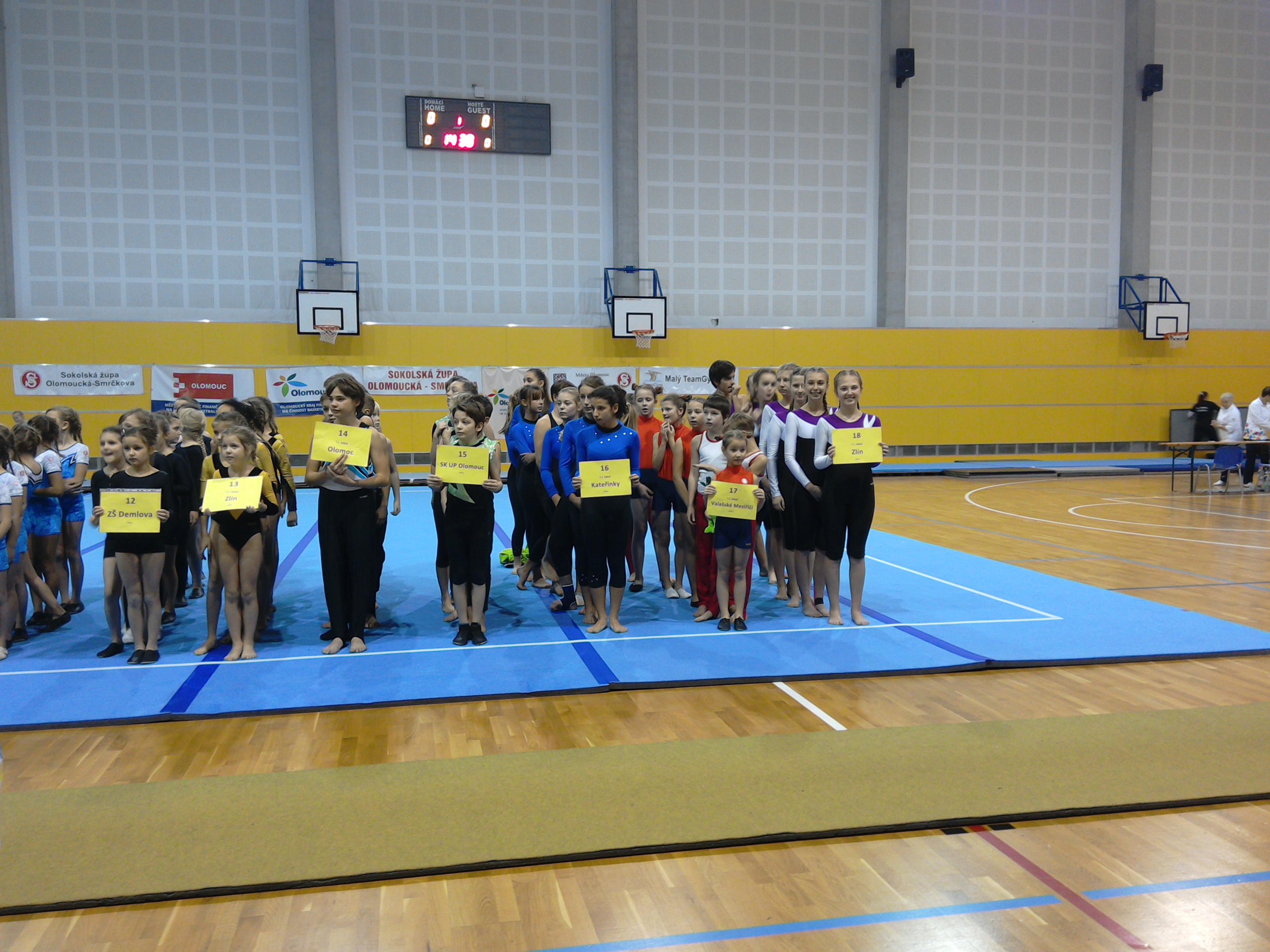 Teamgym 17.11. Olomouc
